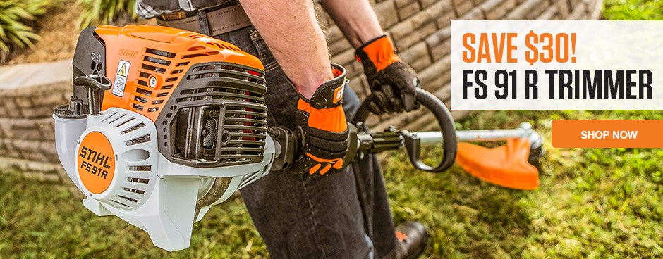 Save Now on the FS 91 R Trimmer!